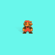 Load image into Gallery viewer, 8-Bit Mario Enamel Pin