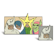 Load image into Gallery viewer, Me (Dopey Rhino) Enamel Pin