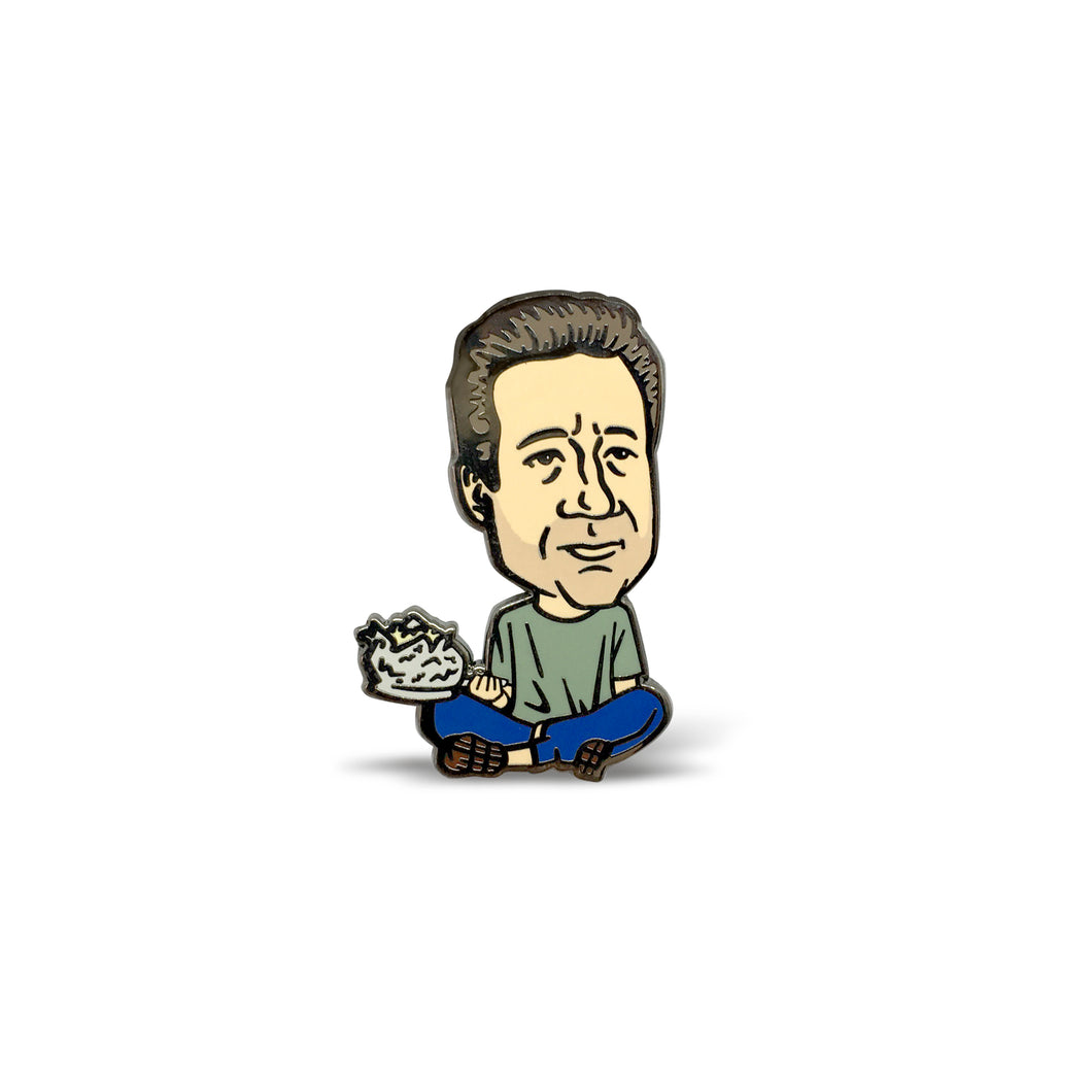 Young Mulder Enamel Pin