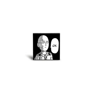 One Punch Man Enamel Pin