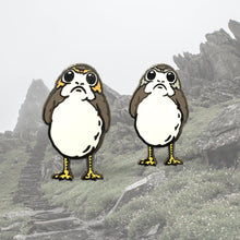 Load image into Gallery viewer, Porg Male/Female Pin Set