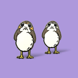 Porg Male/Female Pin Set