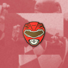 Load image into Gallery viewer, Red Ranger Enamel Pin