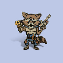 Load image into Gallery viewer, Rocket Raccoon Lapel Pin