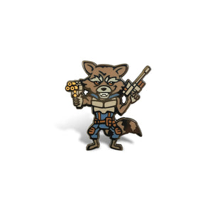 Rocket Raccoon Lapel Pin
