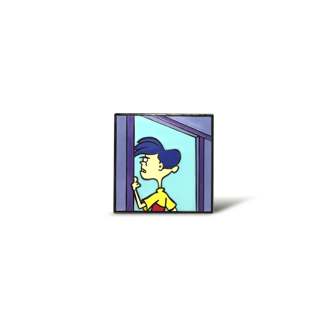 Reflecting Rolf Enamel Pin