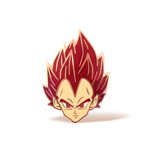 Load image into Gallery viewer, Vegeta SS God Enamel Pin