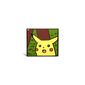 Shocked Pikachu Enamel Pin