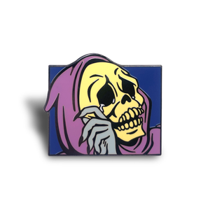 Skeletor Tears Enamel Pin
