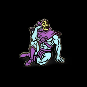 Skeletor Reflects Enamel Pin