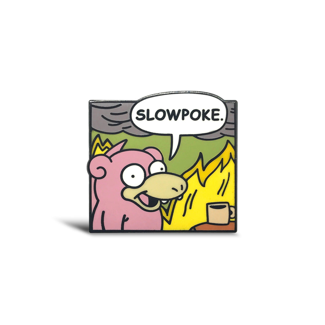 Slowpoke Lapel Pin
