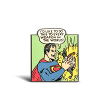 Load image into Gallery viewer, Superman's Crisis Enamel Pin