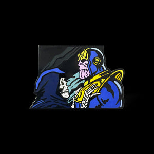 Thanos Feels Enamel Pin