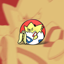 Load image into Gallery viewer, Hangry Togepi Enamel Pin