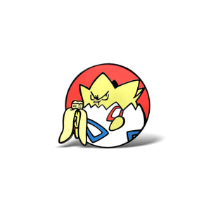 Hangry Togepi Enamel Pin