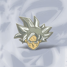 Load image into Gallery viewer, Ultra Instinct Goku Enamel Pin