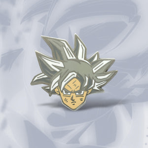 Ultra Instinct Goku Enamel Pin
