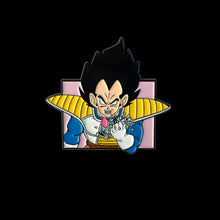 Load image into Gallery viewer, Vegeta Fist Enamel Pin