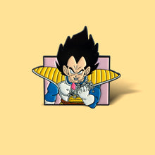 Load image into Gallery viewer, 9K Vegeta Enamel Pin