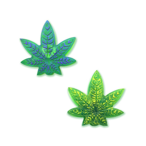 Weed Leaf Poly Pin
