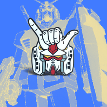 Load image into Gallery viewer, Shaka Gundam Lapel Pin
