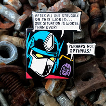 Load image into Gallery viewer, Prime Doubts Enamel Pin