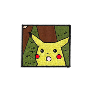 Shocked Pikachu Patch