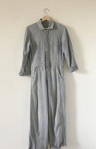 1980s Denim Coverall