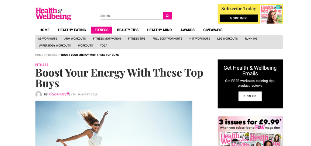 Instepp featured on the Health & Wellbeing Blog