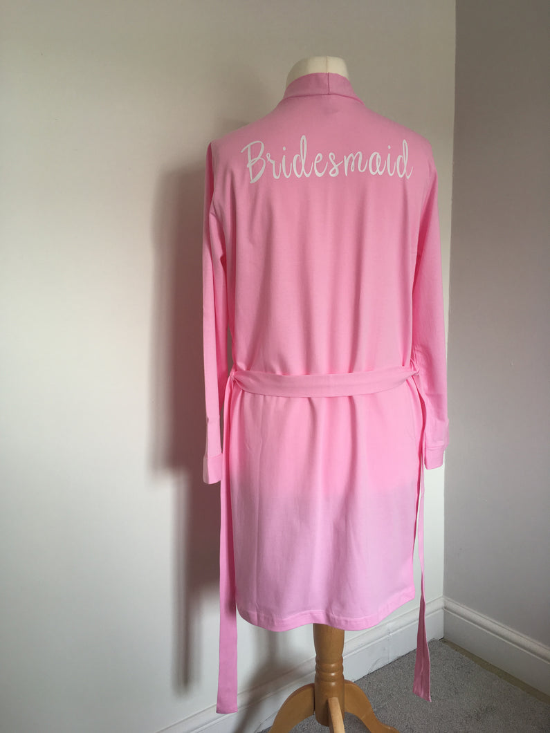 Custom Cotton Robe