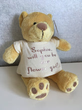 Personalised Honey Bear