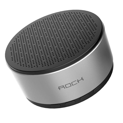S10 Mini Bluetooth Speaker, ROCK Bluetooth 4.2 Sound Outdoors Wireless Bluetooth Speaker Support TF card Stereo Speaker