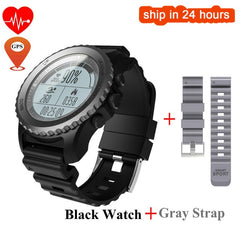 Hold Mi S968 GPS Sport Smart Watch Waterproof Sleep Heart Rate Monitor Thermometer Altimeter Pedometer GPS Smartwatch Men