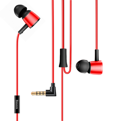 Baseus H07 Hi-Res Audio Wired Earphone Headset With Mic Metal In-Ear Earphone Stereo Bass Sound With 3.5mm Jack Earbuds kulakl k