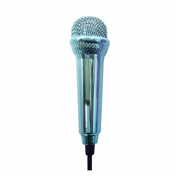 Portable Mini 3.5mm Wired Microphone for Mobile Phone Tablet PC Laptop Speech Sing Karaoke For IPhone Aluminum Alloy Microphone