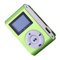 Sports MP3 Player with Micro Card Slot (Green)
