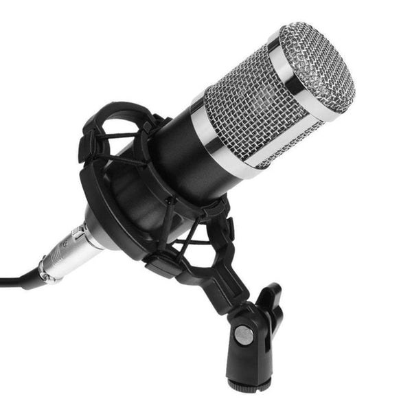 Dynamic Condenser Microphone Sound Studio Audio Recording Mic with Shock Mount for Broadcasting KTV Singing BM800 Drop Shipping
