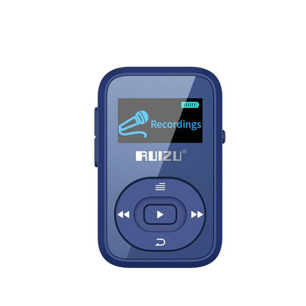 Bluetooth Clip Sport 8GB MP3 Player LCD Screen Micro Card Slot Portable Media Player FM Radio MP3 Voice Recorder