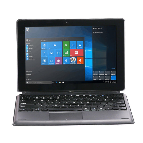 Laptop 2 in 1 Tablet PC Students Accessory Home Notebook Computer Wind10 + Android5.1 10.1'' Tablet Game