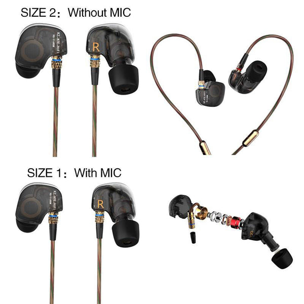HiFi In-Ear Headphone Copper Driver