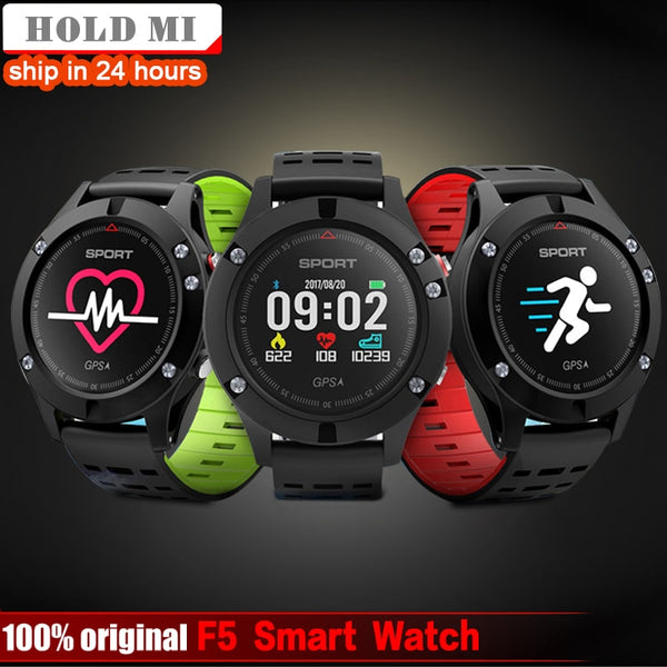 Hold Mi No.1 F5 GPS Smart Watch Altimeter Barometer Thermometer Bluetooth 4.2 Smartwatch Wearable devices for iOS Android Phone
