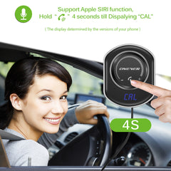Bluetooth 4.2 Car FM Transmitter MP3 Player Charger with Magnetic Base