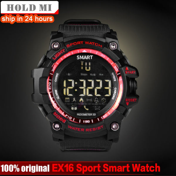 HoldMi EX16 Sport Bluetooth Smart Watch Xwatch 5ATM IP67 Waterproof Smartwatch Pedometer Stopwatch Alarm Clock LONG TIME STANDBY