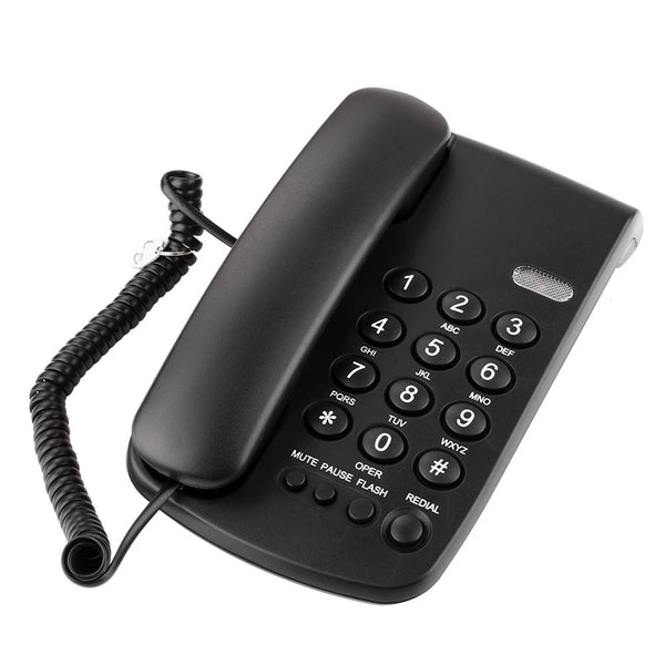 Fashion Home Offical Telephone Corded Phone Corded TCF-2000 Mute Redial Landline