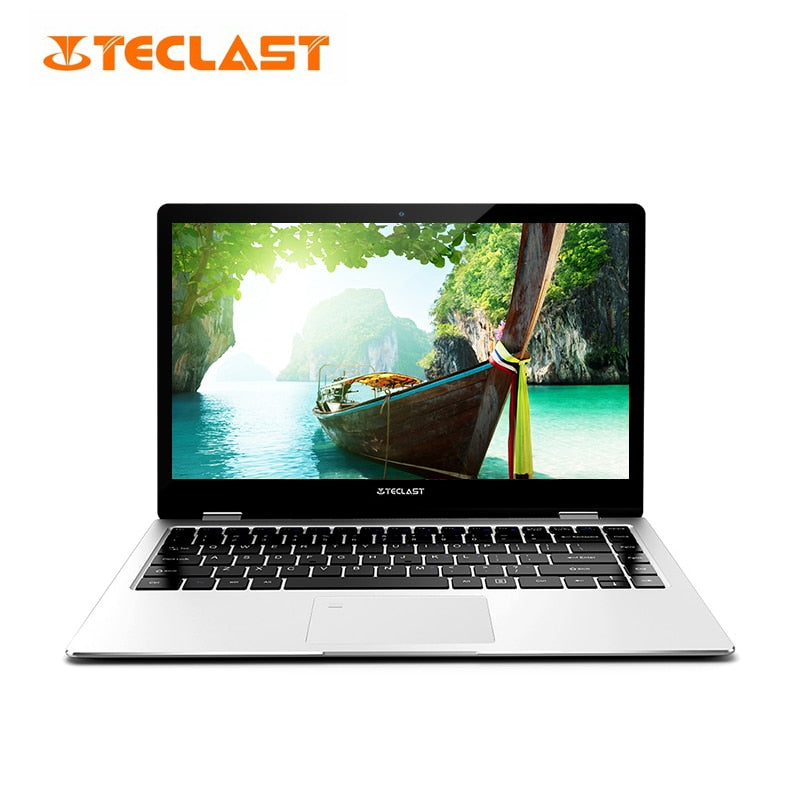 Teclast F6 Pro Notebook 13.3 inch 1920x1080 Windows 10 8GB RAM 128GB  Intel Core m3-7Y30 Dual Core Fingerprint Recognition