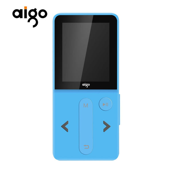 "Aigo MP3-207 Music Player 1.8"" TFT Screen Display Multifunctional MP3 Player"
