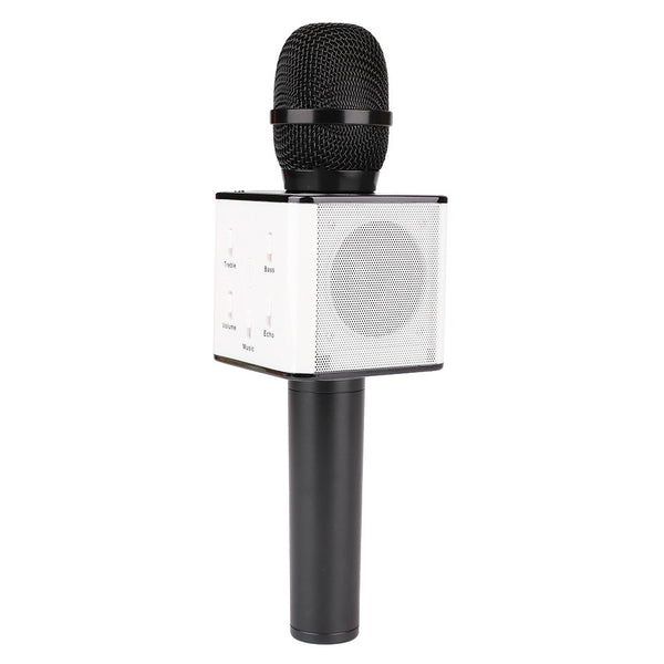 Bluetooth Home KTV Karaoke Singing Microphone MIC Speaker For Smart Phones
