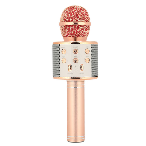 Karaoke Microphone Mini Smartphones Party KTV Wireless Bluetooth Mic Singing