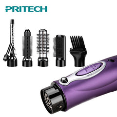 Multifunctional Styling Tools Hair Dryer Hair Curling Comb Brush Professional Salon Electric Hair Dryer