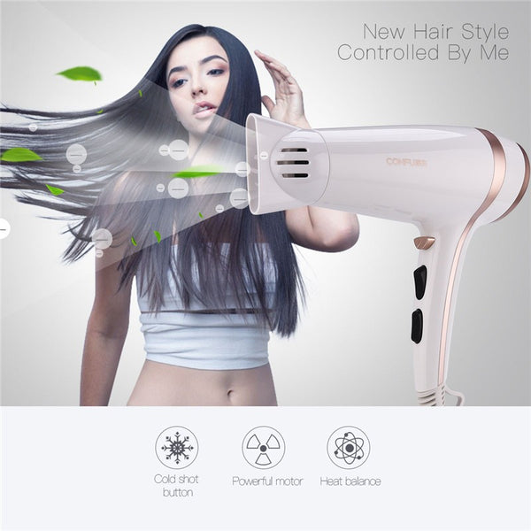 220-230v Professional 2000-2200W Hair Dryer Blow Dryer with 2 Speed and 3 Heat Settings